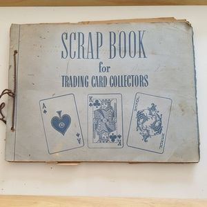 Vintage Collector's Playing Cards Album Book